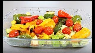 Вкусный овощной гарнир за 20 минут ! Супер-рецепт !