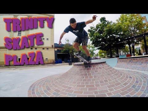 All I Need skateboards - Trinity skate plaza Providence Ri.