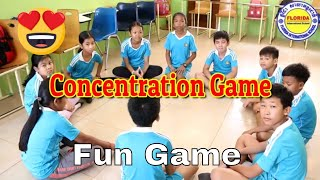 Concentration Game | Classroom Games | Party Games | Parlour Games
