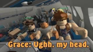 Plane Crash ROBLOX Film ! Фильм крушение Самолёта  В Роблоксе