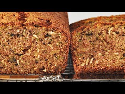 Video Zucchini Bread Recipe Demonstration - Joyofbaking.com