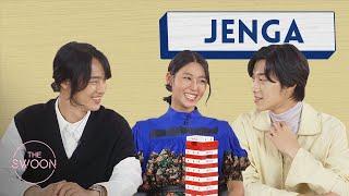 Yang Se-jong, Woo Do-hwan, and Seolhyun play Jenga [ENG SUB]