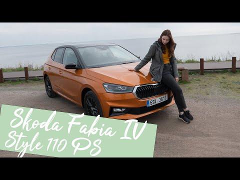 Außen Klein, Innen Maxi: der neue Skoda Fabia Style 1,0 TSI (110 PS) DSG [4K] - Autophorie