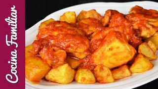 Pollo al ajillo con salsa de tomate | Javier Romero