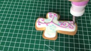 First Communion Cookies Made With Royal Icing