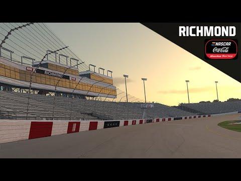 ENASCAR iRacingシリーズ第5戦 リッチモンドレースウェイ レースライブ配信動画