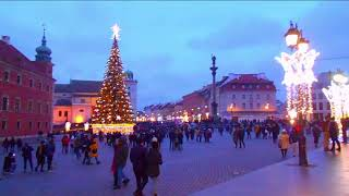 Warsaw Christmas Lights Winter In Poland 2019