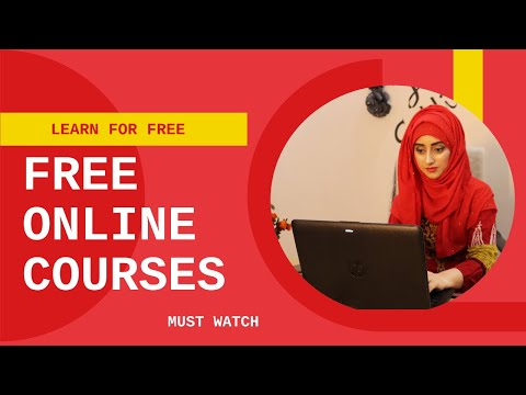 Best free online courses websites / Best learning sites ( Get Free Courses ) Javaria Siddique
