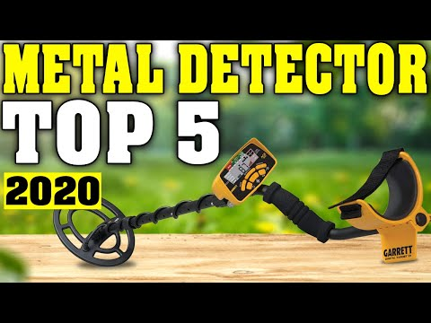 TOP 5: Best Metal Detector 2020