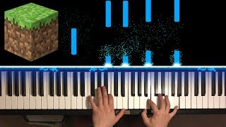 minecraft song piano cover - TH-Clip
