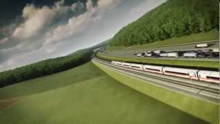 preview picture of video 'Bahnprojekt Stuttgart-Ulm Motion Ride'