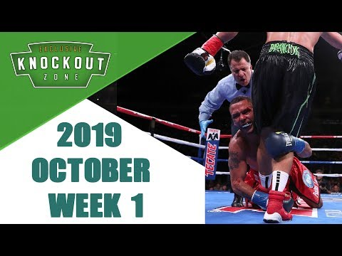 Boxing Knockouts   October 2019 Week 1