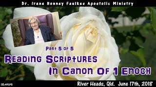 (Part 5 of 5) Reading scriptures in canon of 1 enoch