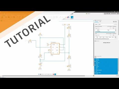 Electronics Schematic Tutorial Walkthrough
