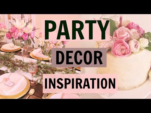 Party Decor Ideas & Inspiration- Baby Shower for Kensington Rose