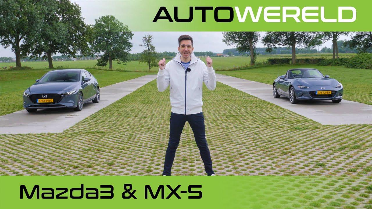 Hoeveel MX-5 zit er in een Mazda3? Mazda3 Sportive & MX-5 Sportive (2022)