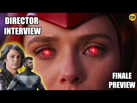 WandaVision Director Interview: Aerospace Engineer, Quicksilver Multiverse, Finale Teases