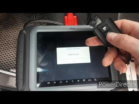 Программирование ключей Nissan Pathfinder R51. Xtool H6 Elite