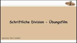 1.4.2 SCHRIFTLICHE DIVISION ÜBUNGSFILM