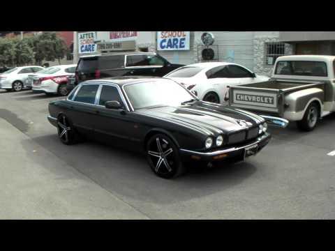 "19"" Inch Lexani R3 Black Rims 2000 Jaguar XJ Concave Wheels Classic Jag Miami Free Shipping"
