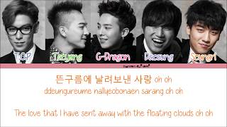 BIGBANG   BLUE Color Coded Lyrics [Han|Rom|Eng]