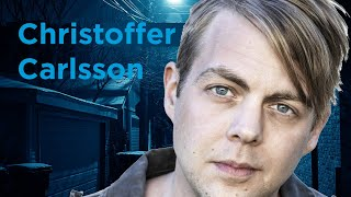 Christoffer Carlsson med boken Brinn mig en sol