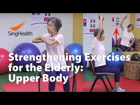 ​Upper Body Exercises for Elderly​