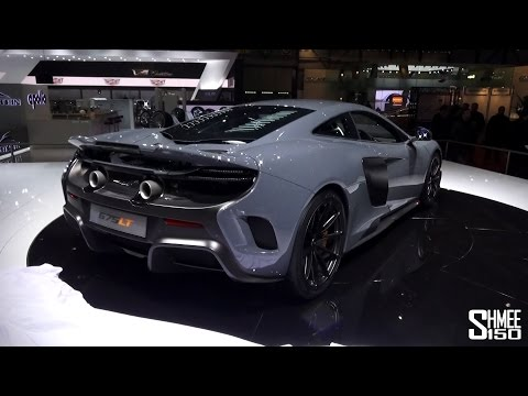 FIRST LOOK: McLaren 675LT - Preview at Geneva 2015