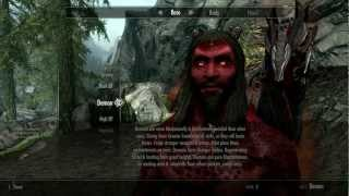 Skyrim Mod of the Day - Episode 31: Demonic Race/Useful Training Dummies/Hunters Tundra Camp