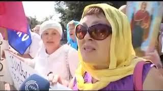 Украинские СМИ о приезде лже-патриарха Филарета в Луганск