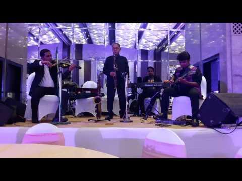 Sholay Theme (Live Band with Shyamraj ji on Saxophone)