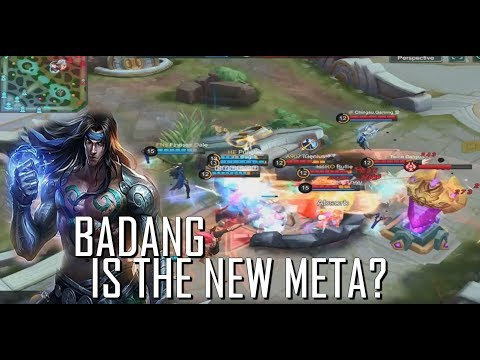 BADANG IS THE NEW META?? - MOBILE LEGENDS - GUSSION SKIN GIVEAWAY - GAMEPLAY - RANK GAME