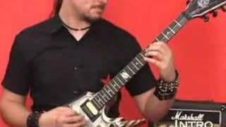 Trivium Guitar Lesson Gunshot To The Head Of Trepidation