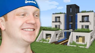 Building A Modern House In 1 HOUR!