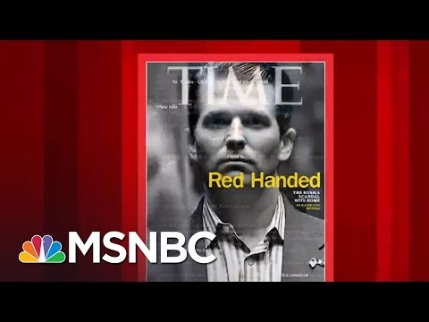 , title : 'Latest Time Cover On Donald Trump Jr.: 'Red handed' | Morning Joe | MSNBC'