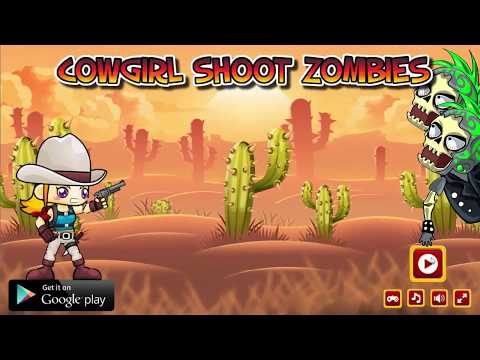 Cowgirl Shoot Zombies HTML Game Source Code - Unreal Engine