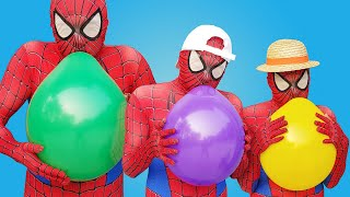 Spider Man Popping Balloons #1
