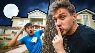 MOREJSTU SNEAKING INTO OUR HOUSE?! **CAUGHT**