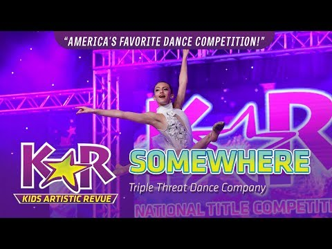 """""""Somewhere"""" from Triple Threat Dance Company"""