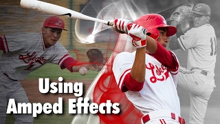 Using Ashe Design Amped Effects Sports Templates