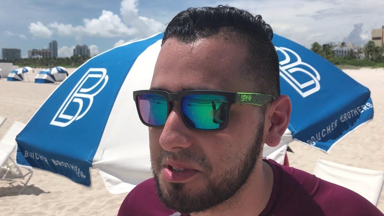 PREVIA HURACAN IRMA EN MIAMI MIERCOLES SOUTH BEACH