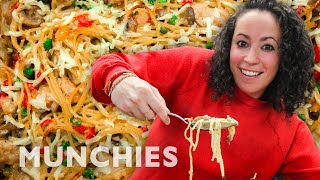 CHICKEN TETRAZZINI – THE COOKING SHOW