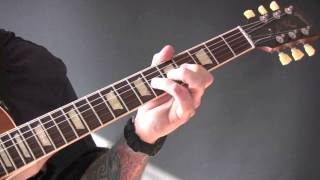 Chocolate Guitar Tutorial by The 1975