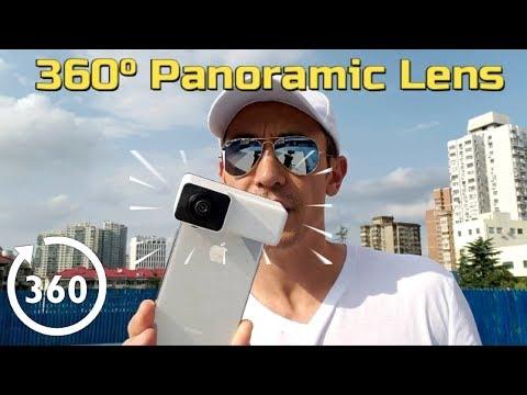 3D 360° Panoramic Lens for iPhone X, iPhone 7 Plus, iPhone 8 Plus