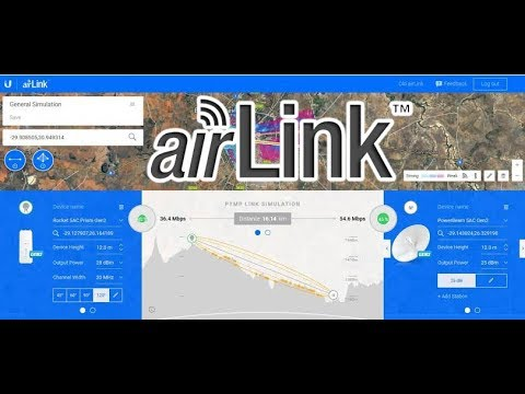 Ubiquiti Airlink Wireless Link Planner How To - смотреть