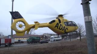 preview picture of video 'Landung Rettungshubschrauber Christoph 33 in Hoyerswerda'