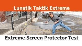 Extreme Screen Protector Test - Lunatik Taktik Extreme - Part 1? - iPhone 5S cases