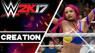 WWE 2K17 Creations: Sasha Banks (Battleground 2016)