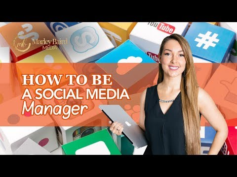 How To Be A Social Media Manager - YouTube