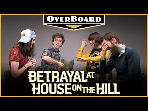Let's Play BETRAYAL AT HOUSE ON THE HILL — Overboard, Episode 4
